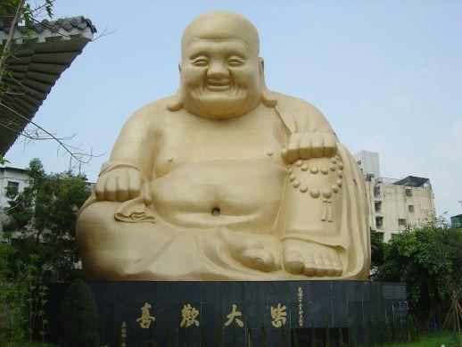 宝覚寺の布袋さん